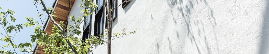 スイス漆喰の家 外壁イメージ