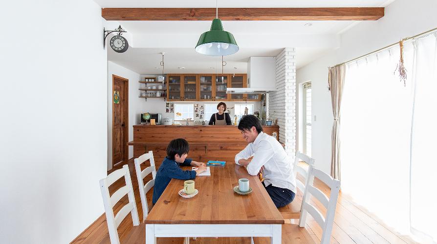 「好き」が詰まった家 暮らしの風景写真