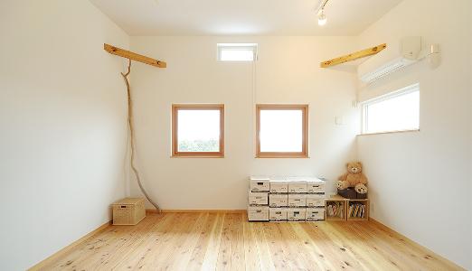 都心でも自然を感じられる家 内観写真