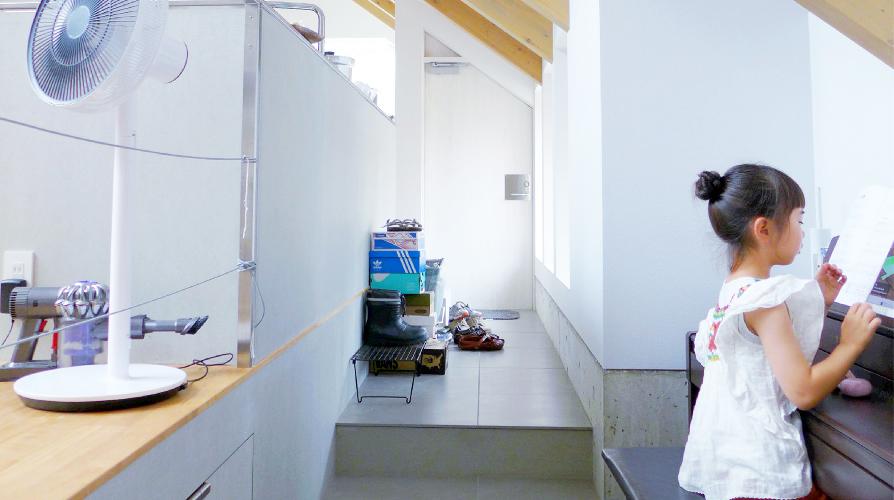 建築家と造った自然素材の家 暮らしの風景写真