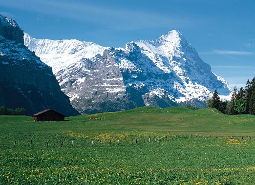 スイスの風景写真
