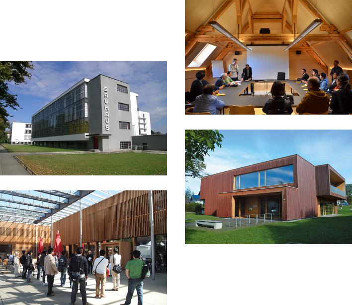 エコバウ建築ツアーの写真