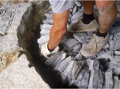 石灰石 イメージ写真