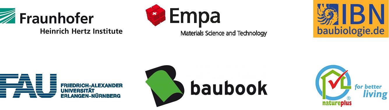 各種認証機関のロゴ